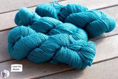 2 Ply Sport Weight Alpaca Yarn -Teal