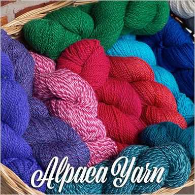 Custom Spun Alpaca Yarn